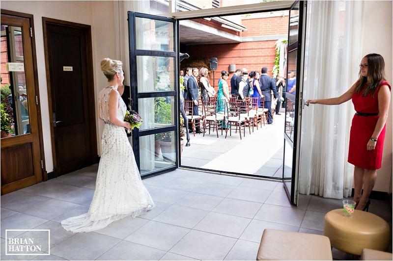 The bride processional making and entrance wedding hotel giraffe
