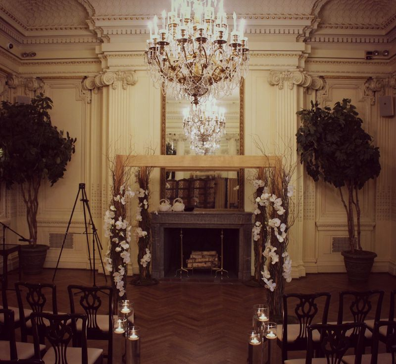 Ceremony Chuppah Lotos Club Wedding