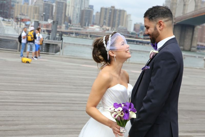 Real Wedding Katrina and Peter flowers by blank slate events floral designer in NYC photo by Jerritt Clark Photography