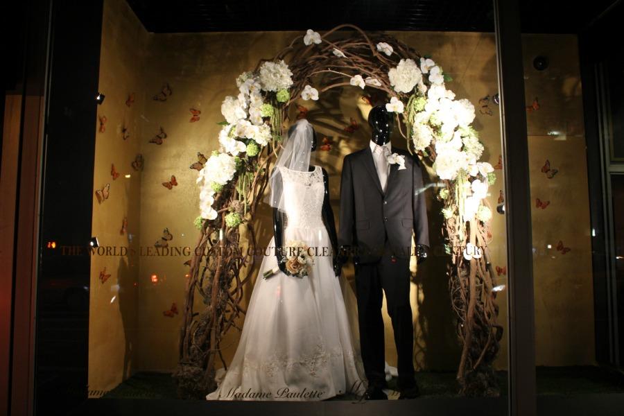 Designer Wedding Window Madame Paulette Today S Current Events